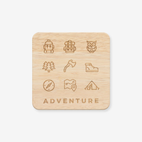 Adventure Wooden Coaster