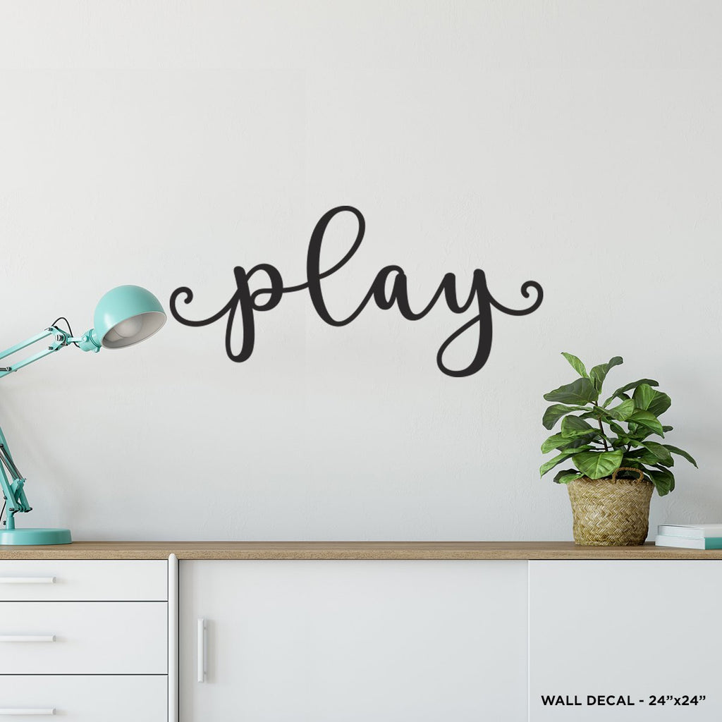Play Wall Decal
