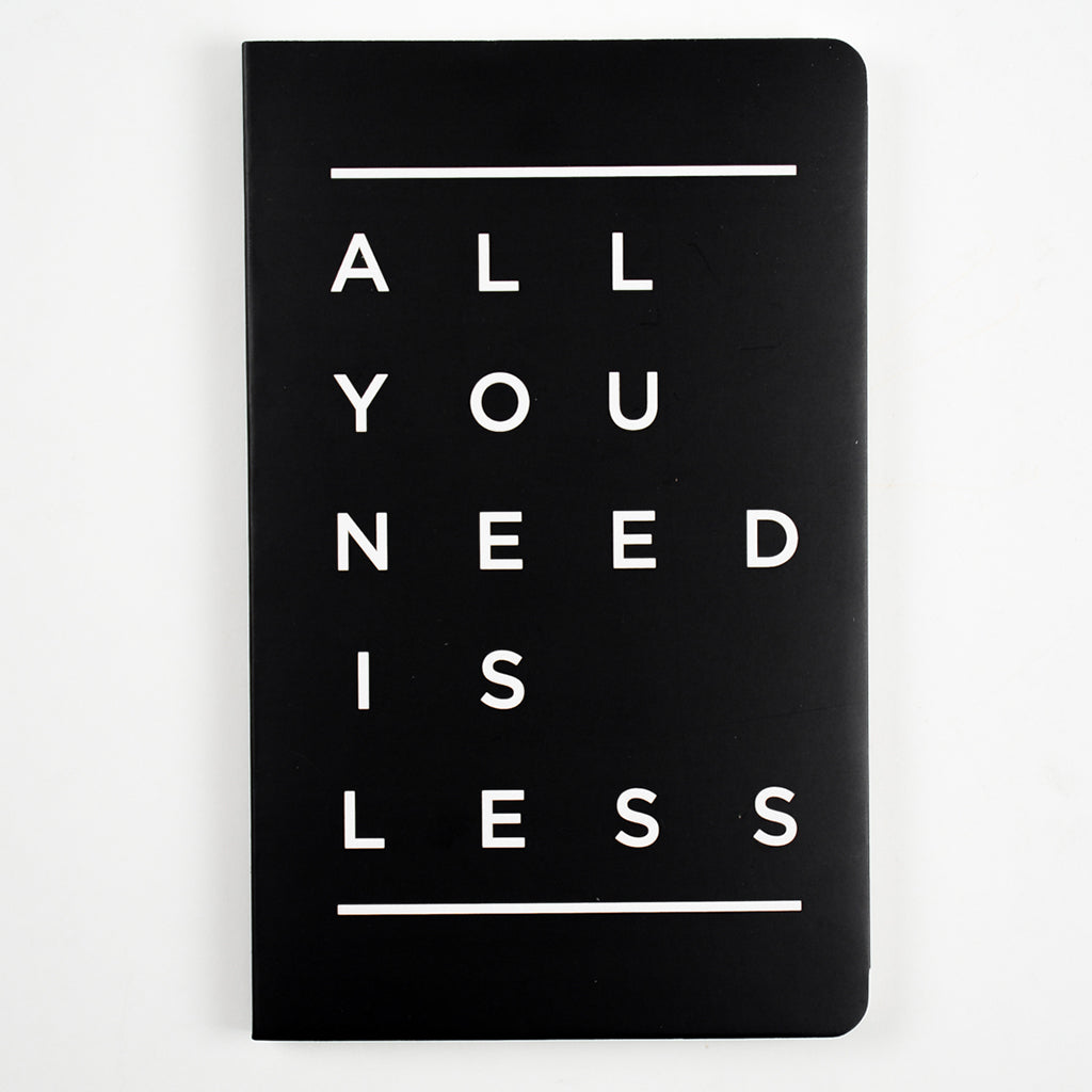 Notebook-All You Need Is Less