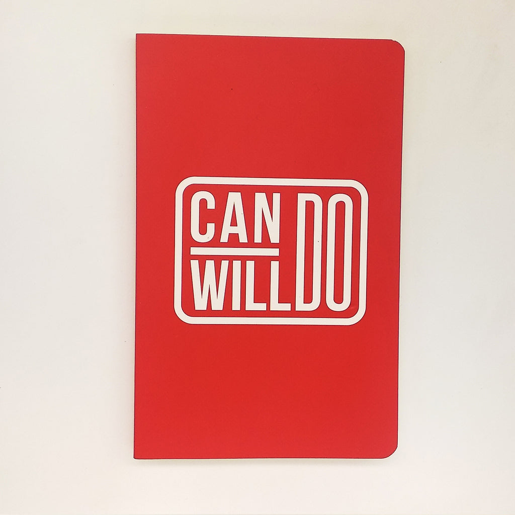 Notebook-The Can Do Will Do