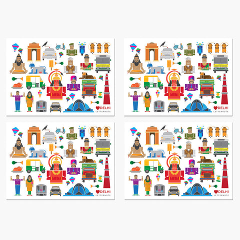 Delhi Icons Notecards