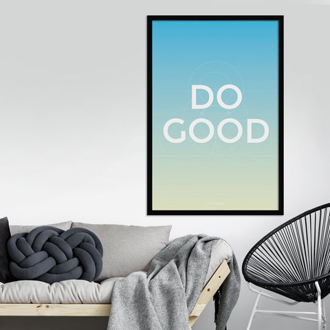 Do Good Art Print
