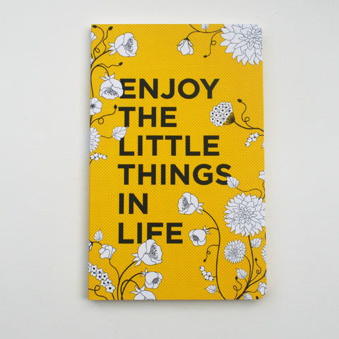 Enjoy The Little Things In Life Vivid NoteBook