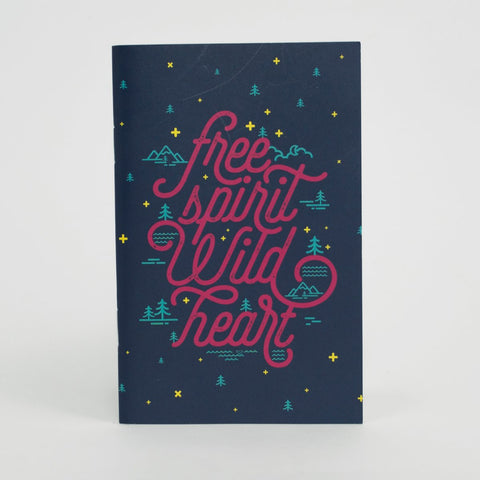 3 Pocket Notebooks - Free Spirit Wild Heart