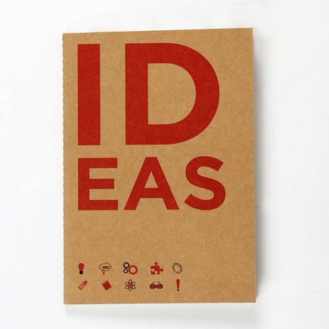 Ideas Kraft NoteBook
