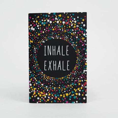 3 Pocket Notebooks - Inhale Exhale