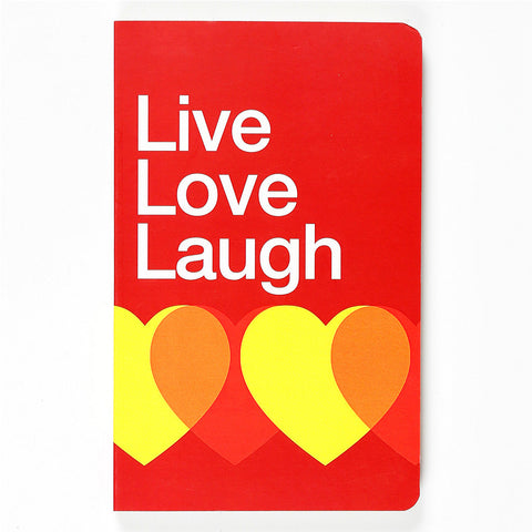 Notebook-Live Love Laugh