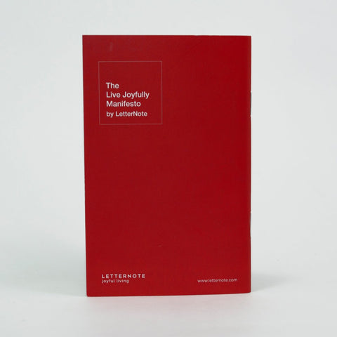 3 Pocket Notebooks - The LetterNote Manifesto