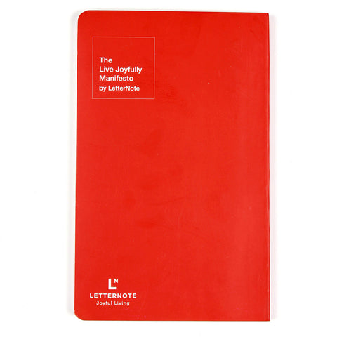 Notebook-The LetterNote Manifesto