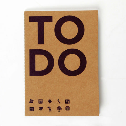 To Do Kraft NoteBook