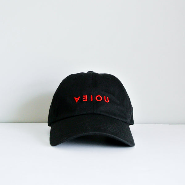 LOGO DAD HAT - BLACK/RED