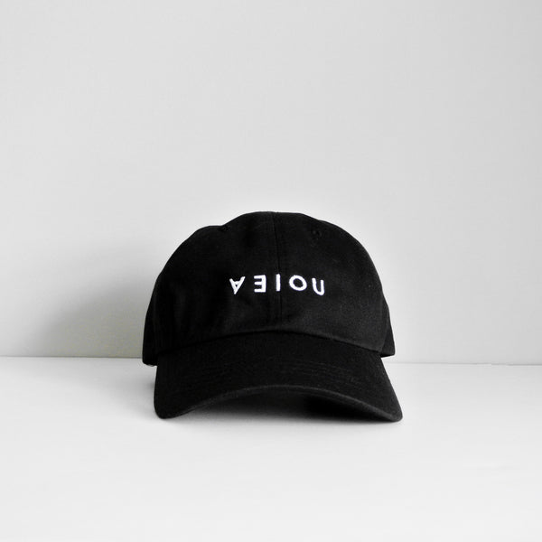 LOGO DAD HAT - BLACK/WHITE