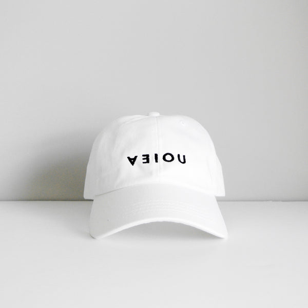 LOGO DAD HAT - WHITE/BLACK