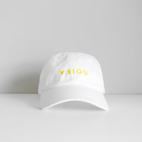 LOGO DAD HAT - WHITE/YELLOW