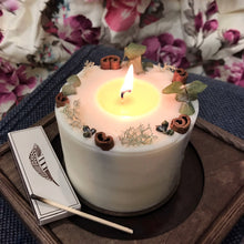 Decorated Soy Wax Candle ORIENTAL MOOD