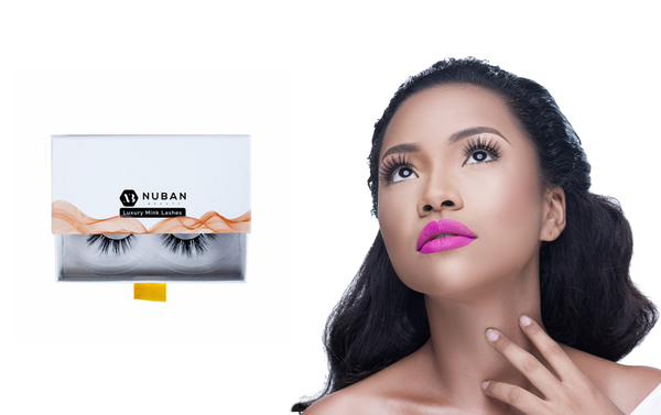 Nuban Beauty Luxury Mink Lashes