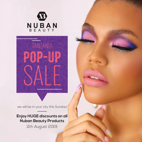 Nuban Beauty Pop-Up Tanzania