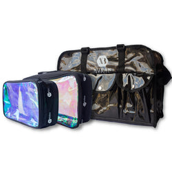SET MAKEUP BAG WITH POUCHES - Nuban Beauty