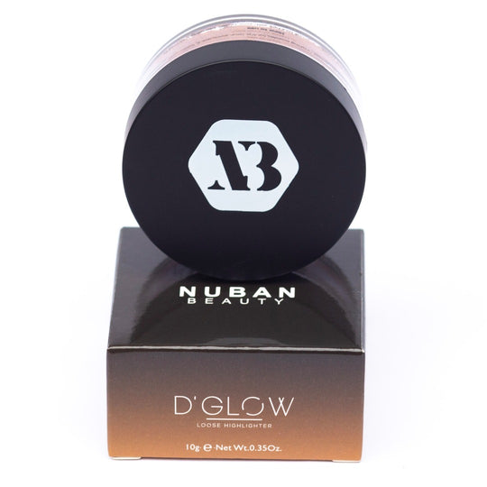 Nuban Beauty D'GLOW loose highlighter