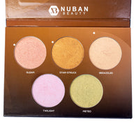D'GLOW PALETTE HIGHLIGHTER - Nuban Beauty