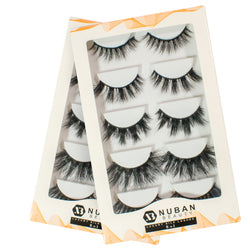 5-in-1 3D Luxury Mink Lashes - Nuban Beauty