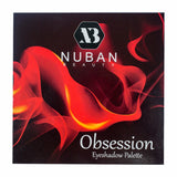 Nuban Beauty Obsession Eyeshadow Palette Pack