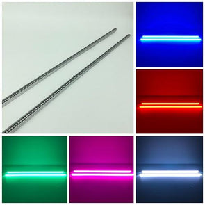 2 Packs RGB Magnetic Light Bar LED Underglow Waterproof Light with Bluetooth App Control-New Arrival-Vivid Light Bars