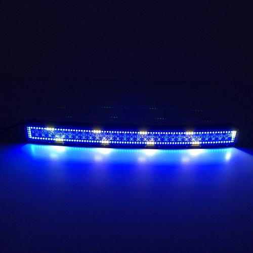 "31.5"" Curved RGB Chasing Flow Halo Light Bar With Bluetooth App Remote Control-RGB Chasing Curved Light Bar-Vivid Light Bars"