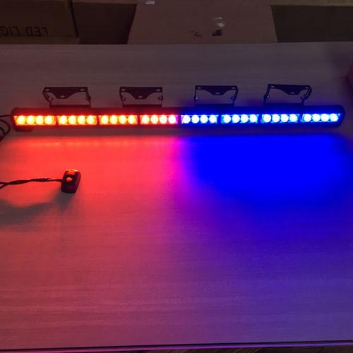 "35.4"" 32w LED Flash Light with 6 kinds of strobe pattern-led flash lights-Vivid Light Bars"