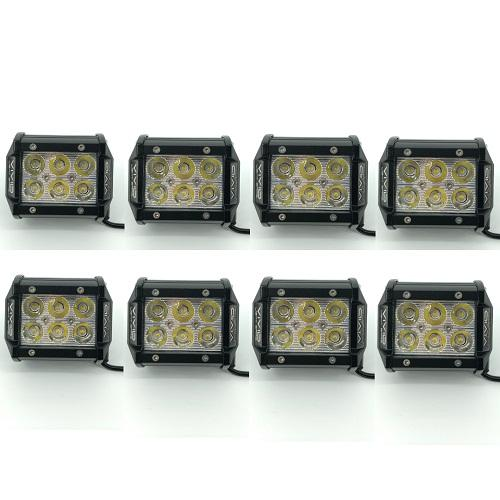 "4"" Dual Color Strobe LED Pods-Vivid Light Bars"