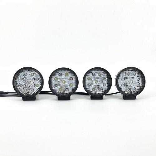 4.5'' Dual Color Round Heavy Duty High Powered Off-Road Work Lights (25W white, 12W amber)-New Arrival-Vivid Light Bars