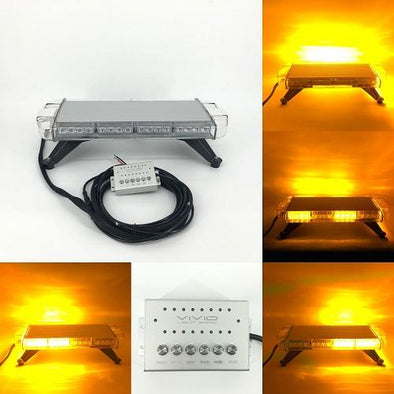"54"" 104W TIR Emergency Light Bar for Emergency Vehicles, Tow Trucks, Snow Plows-New Arrival-Vivid Light Bars"