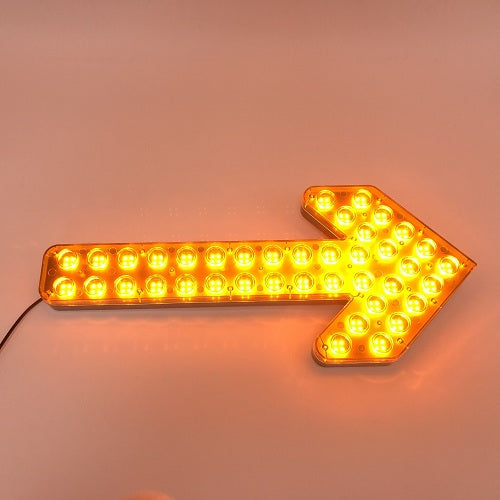 "New 23.5"" 30W LED Arrow Board Exterior Waterproof Directional LED Traffic Advisor Light-Vivid Light Bars"