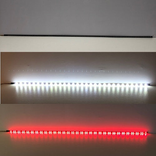 "60.5"" Turn Signal & Brake Light Bar Strip Flexible LED Plate Truck Tail Lights-Flexible RGB Strip Lights-Vivid Light Bars"
