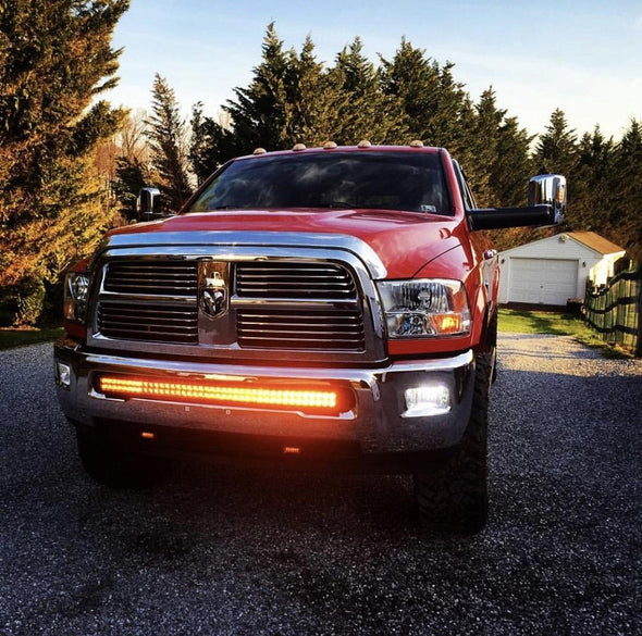 Dual Color Strobe 41.5 Inch Led Light Bar - Vivid Light Bars