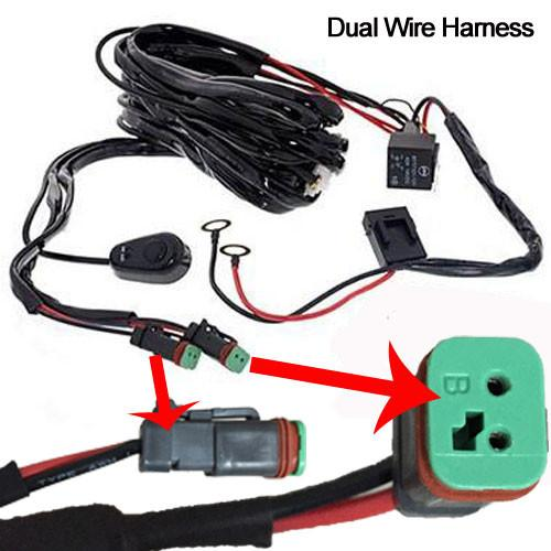 Regular dual /single / quad wire harness-Accessories-Vivid Light Bars