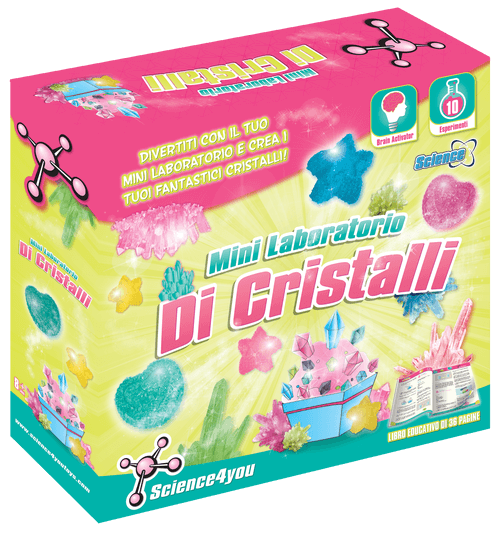 Mini Laboratorio di Cristalli, [Science4you_Italia]