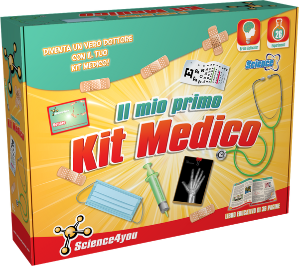 Il Mio Primo Kit Medico, [Science4you_Italia]