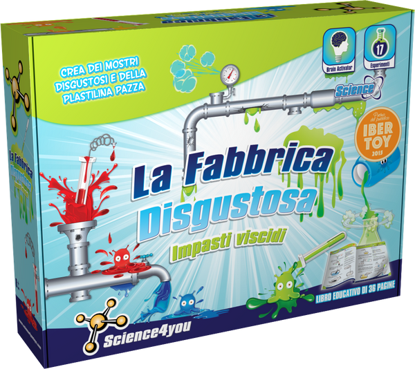 La Fabbrica Disgustosa, [Science4you_Italia]