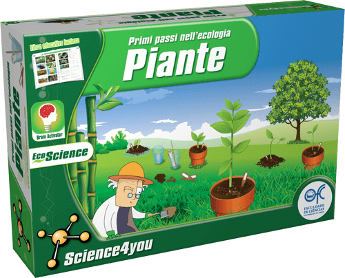Primi passi nell'ecologia: Piante, [Science4you_Italia]