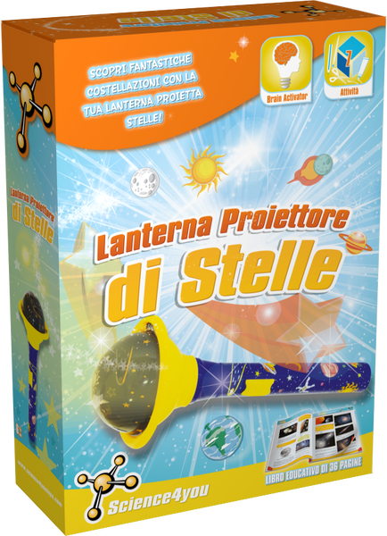 Lanterna Proiettore di Stelle, [Science4you_Italia]