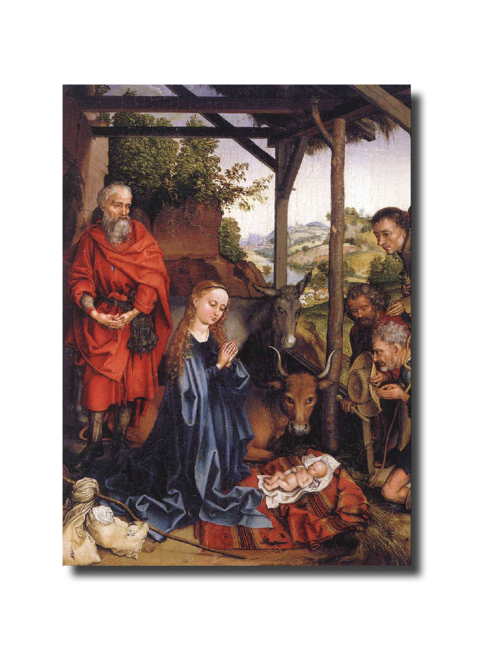 "<p style=""color:grey"">Adoration of the Shepherds<p style=""color_gold"">Ref: KB35"
