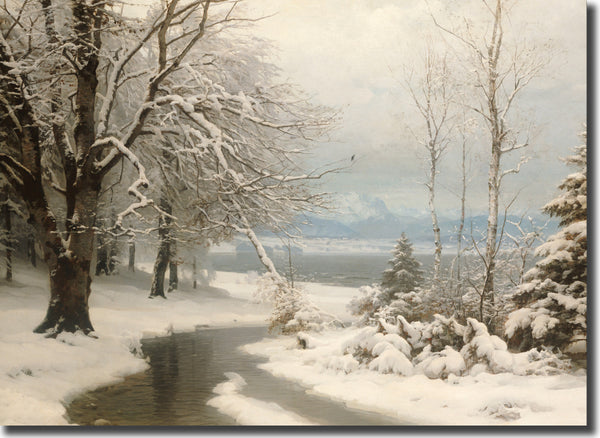 "<p style=""color:grey"">A Wooded Winter Landscape<p style=""color_gold"">Ref: KC13"