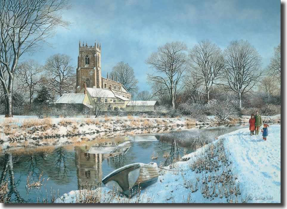 "<p style=""color:grey"">Church in Winter<p style=""color_gold"">Ref: KC15"