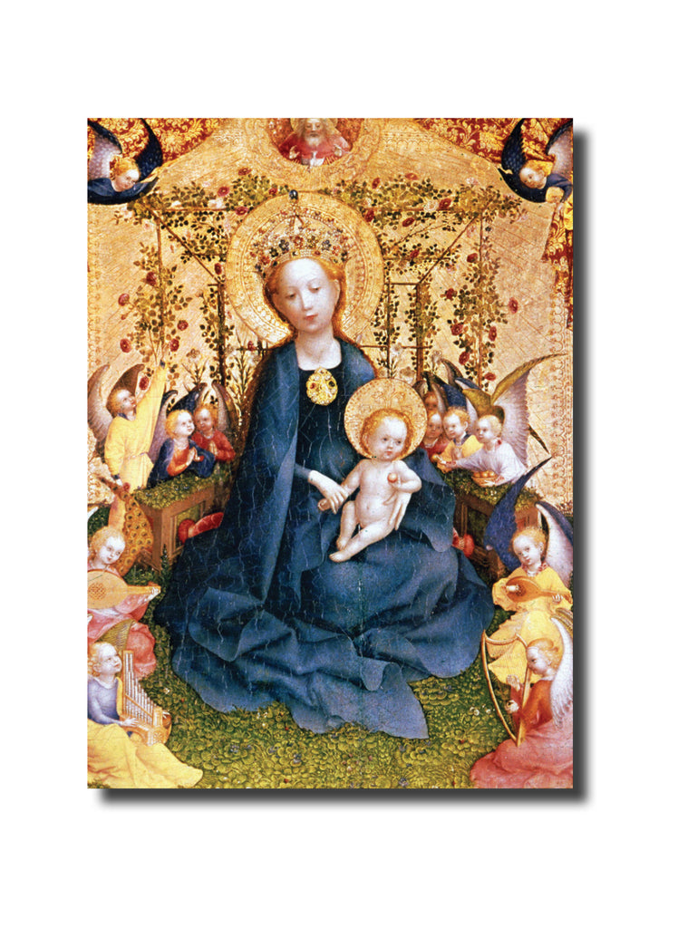 "<p style=""color:grey"">Madonna of the Rose Bower<p style=""color_gold"">Ref: KE11"
