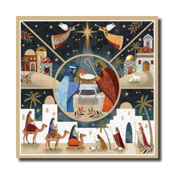 "<p style=""color:grey"">Angels over the Manger<p style=""color_gold"">Ref: KE23"