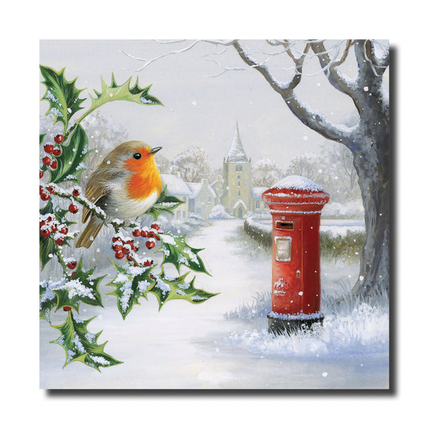 "<p style=""color:grey"">Robin on a Holly Bush<p style=""color_gold"">Ref: KE33"
