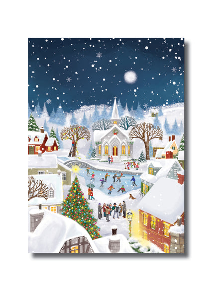 "<p style=""color:grey"">Winter Village<p style=""color_gold"">Ref: KF18"