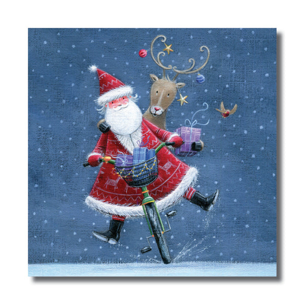 "<p style=""color:grey"">Cycling Santa<p style=""color_gold"">Ref: KF46"