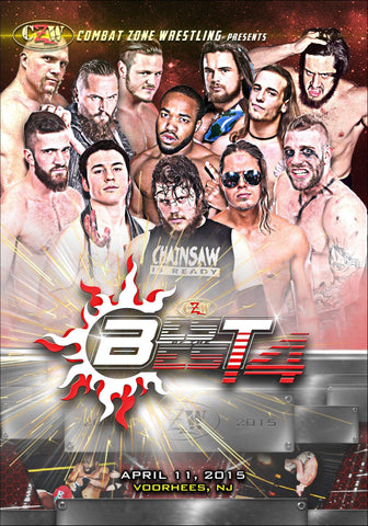 "CZW ""Best of the Best 14"" 4/11/2015 DVD"